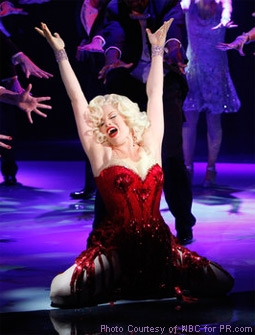 Megan Hilty as Ivy Lynn Playing Marilyn Monroe in Smash