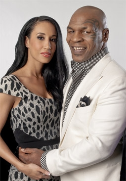 Mike Tyson with Wife Kiki Tyson