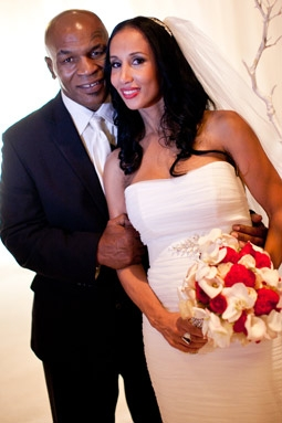 Mike Tyson & Kiki Tyson on Their Wedding Day