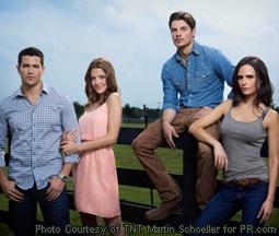 Jesse Metcalfe, Julie Gonzalo, Josh Henderson & Jordana Brewster in Dallas