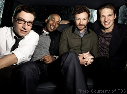 Adam Busch, James Lesure, Danny Masterson & Michael Cassidy in Men At Work