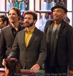 Michael Cassidy, Danny Masterson & James Lesure in Men At Work