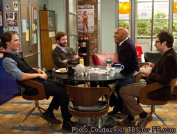 Michael Cassidy, Danny Masterson, James Lesure & Adam Busch in Men At Work