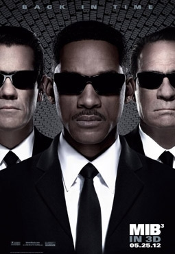 Men In Black 3 with Will Smith, Tommy Lee Jones & Josh Brolin
