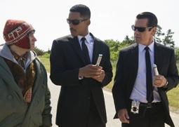 Michael Stuhlbarg, Will Smith & Josh Brolin in Men In Black 3