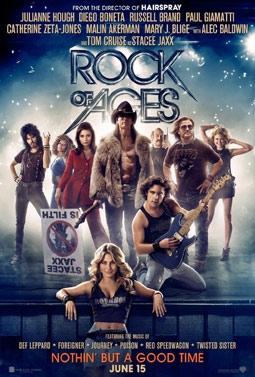 Rock of Ages with Julianne Hough, Diego Boneta, Russell Brand, Paul Giamatti, Catherine Zeta-Jones, Malin Akerman, Mary J. Blige, Alec Baldwin & Tom Cruise