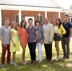 Danielle & Kevin Jonas & the Deleasa Family