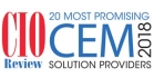 20 Most Promising CEM Solution Providers - 2018