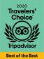 Trip advisor Travelers choice award