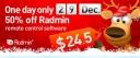 Radmin Christmas Discount Image