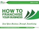 Franchise Marketing Systems - How to Franchise Your Business Image
