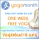 One Week Free Yoga during National Yoga Month