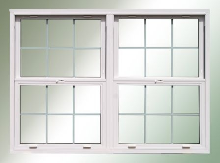Twin set double hung replacement windows from just triple for Buy double hung windows online