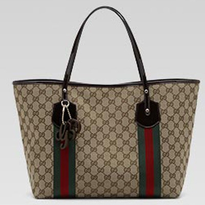 Gucci Classic Bags 211970 Jolie Large Tote With Signature Web