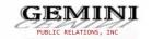 Gemini Public Relations