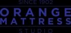 Custom Bedding - Orange Mattress Logo