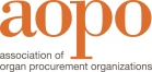 Association of Organ Procurement Organizations (AOPO) Logo
