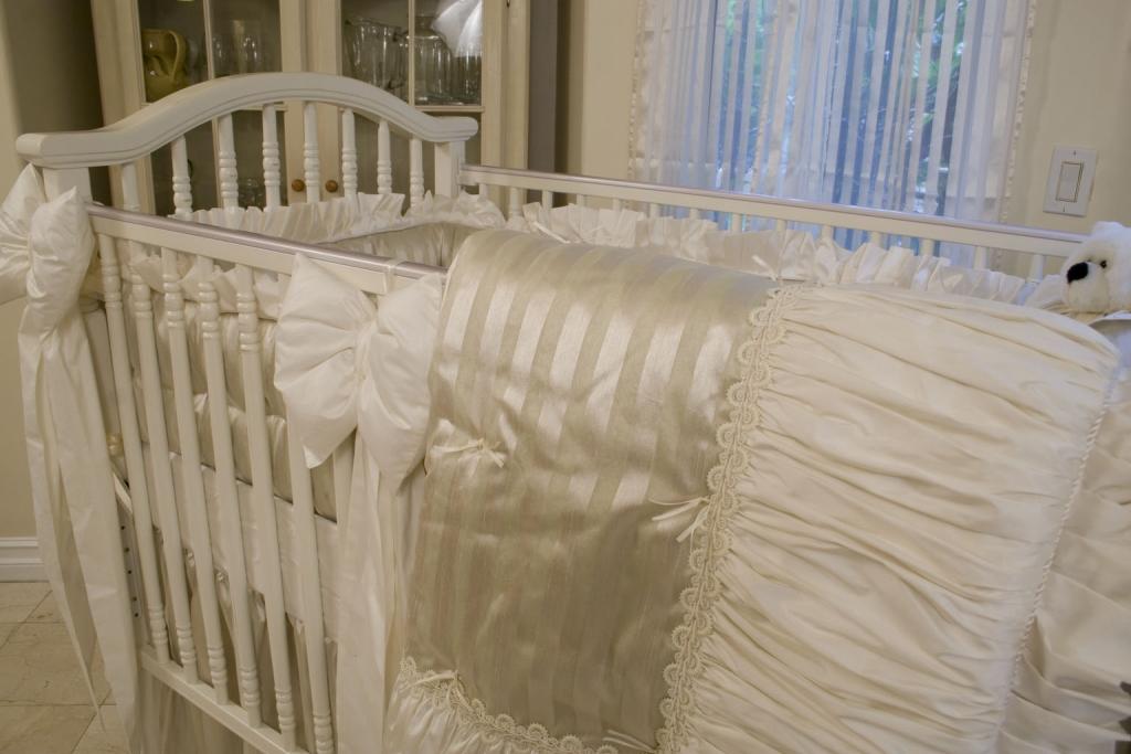 Whisper Sage Baby Bedding