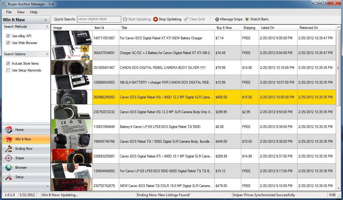Buyer Auction Manager Full Ebay Software For Buyers Has Been Released Pr Com