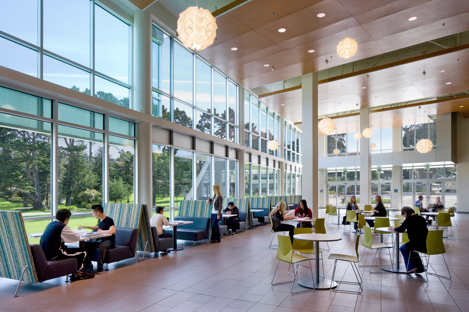 J Paul Leonard And Sutro Library At San Francisco State