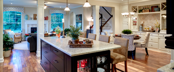 Beasley henley interior design mattamy homes win gold for Model home decorating ideas