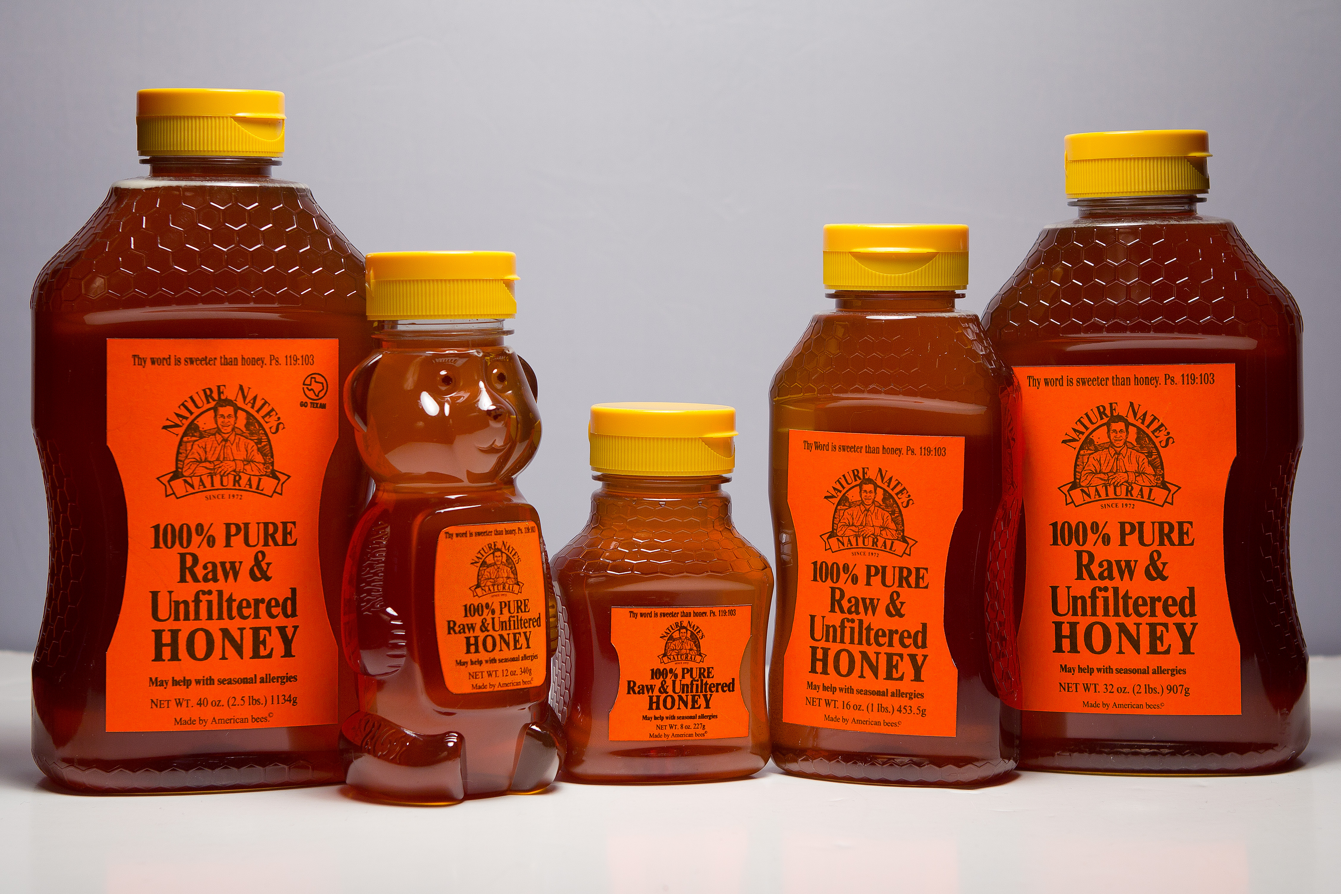 Nature Nate S Raw Unfiltered Honey