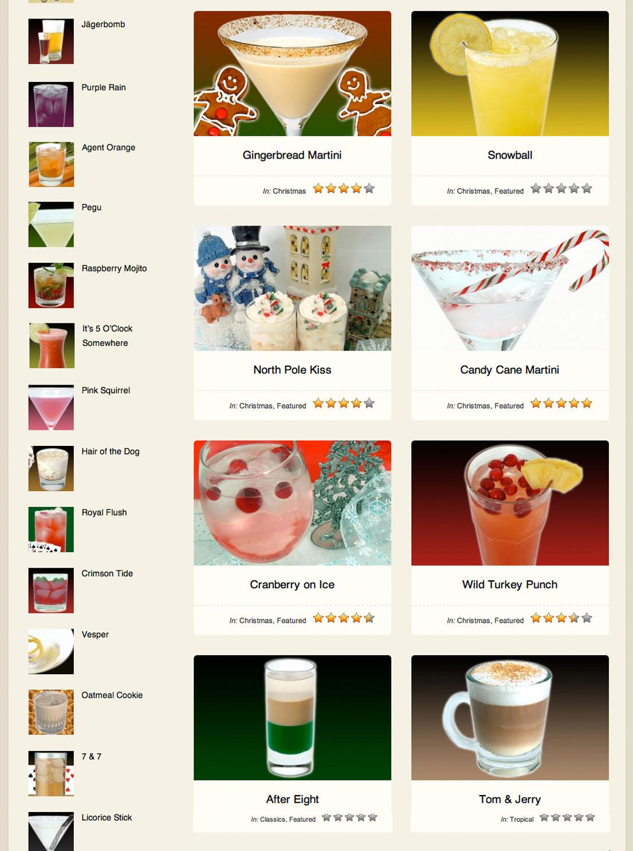 best holiday cocktail recipes. Black Bedroom Furniture Sets. Home Design Ideas