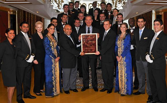 Burj al arab dubai receives seven stars award for Spa uniform south africa