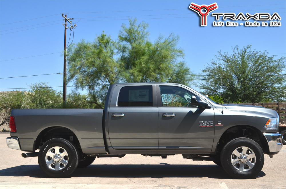 Dodge Ram 1500 Leveling Kit Before And After >> New 2014 Dodge Ram 2500 4x4 Leveling Kit by Traxda LLC - PR.com