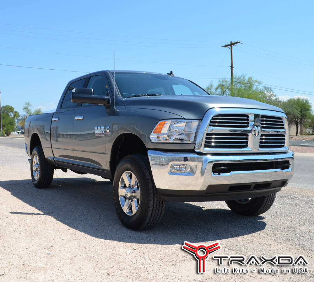 New 2014 Dodge Ram 2500 4x4 Leveling Kit by Traxda LLC - PR.com