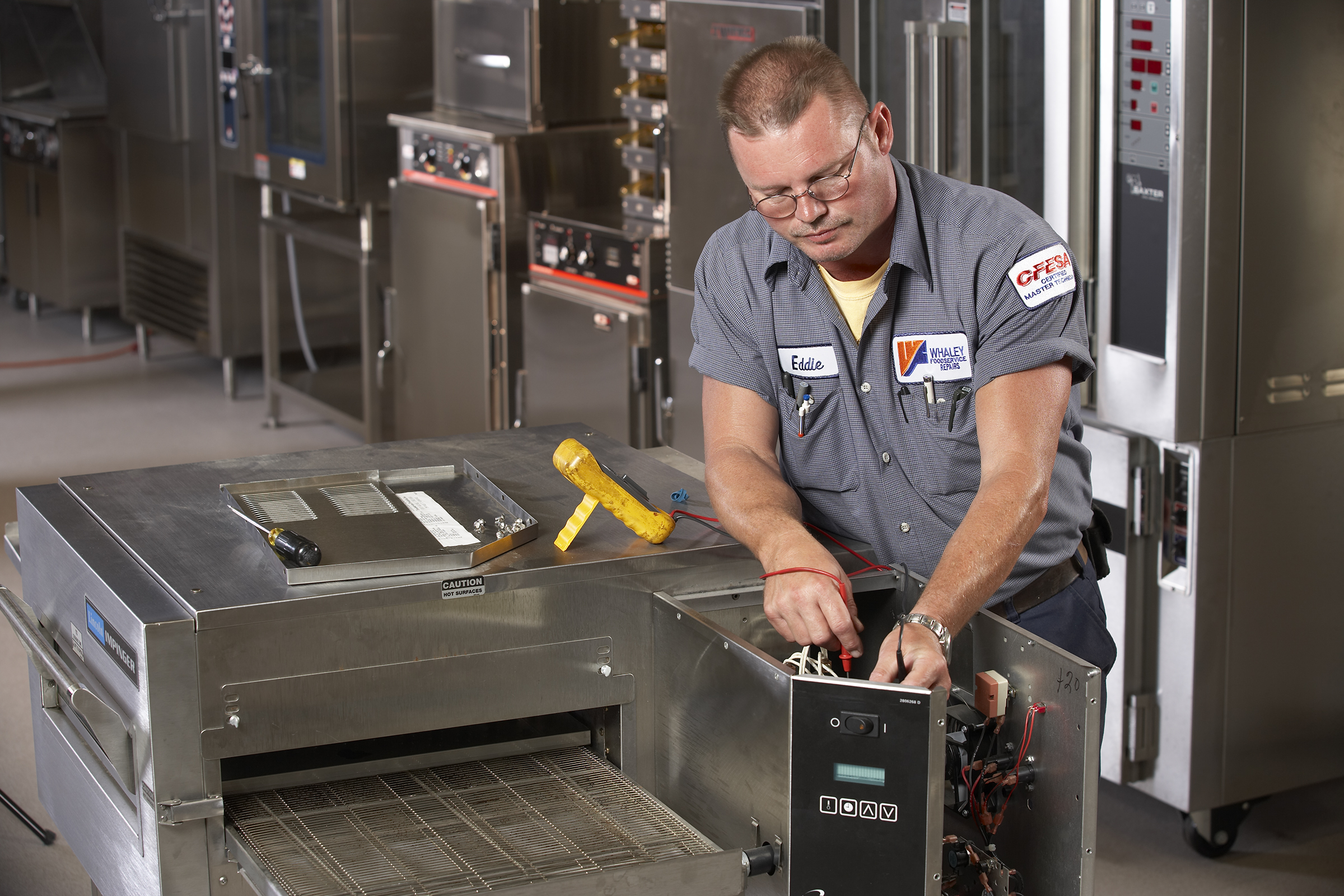 Image Of Commercial Food Equipment Service Technician
