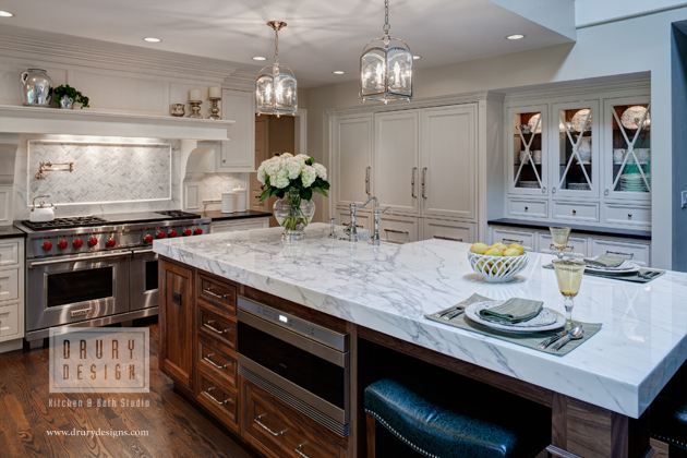 Two asid illinois 2014 interior design excellence awards for Award winning kitchen island designs