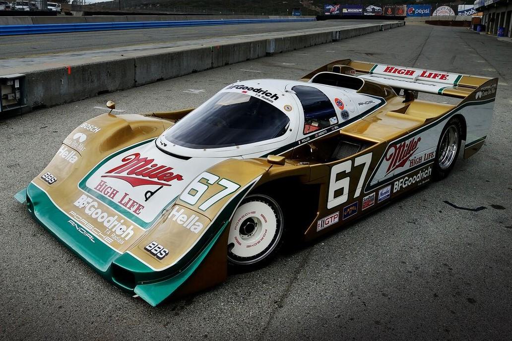 World's Fastest Porsche 962 Race Car Driven by Legendary ...