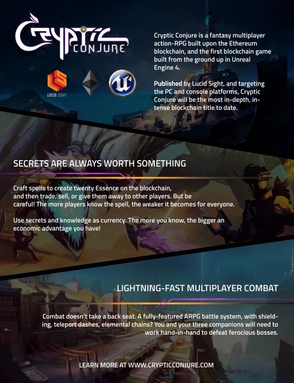Lucid Sight Makes Blockchain Magic - PR com