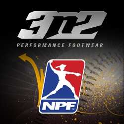 3N2 Named Official Sponsor and Footwear Provider of National Pro Fastpitch