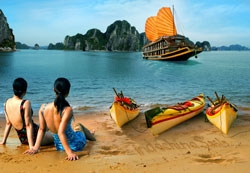 Explore Ha Long Bay with Indochina Sails Cruise Ship