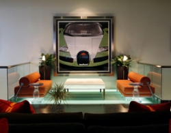 HG Creates Custom Artwork for One-of-a-Kind Luxury Car Club