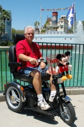 Orlando scooter rental company announces the dream for Motorized scooter disney world