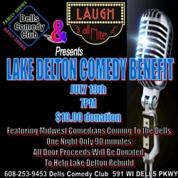 Chicago Comics Perform Comedy for Lake Delton Wisconsin Fund Raiser