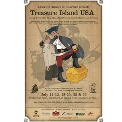 "Children's Theatre of Knoxville to Premiere ""Treasure Island USA"""