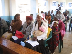 End Malaria – Blue Ribbon Campaign Engages Families from Lesoma Village in Botswana