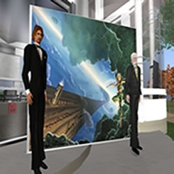 Second Life - Monogram Virtua Sponsors 1st Annual Writers Convention and Fundraiser in Cyber Space