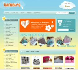 Rambles.com Takes You on an Artistic Journey Handmade for Fun