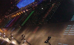 Neo-Neon LED Color Changing Products Featured at the Beijing Olympics