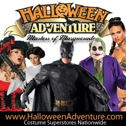 """Halloween Costume Retailers do Their Part to Help Shoppers During """"Scary"""" Economic Times - """"Shop Early to Save Big"""""""