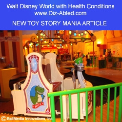 Disney's Toy Story Mania with Physical Challenges: Riding with Health Issues