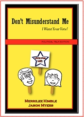 Third Book Introduced to the Runaway Hit Series Don't Misunderstand Me Pokes Fun at Politics