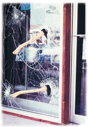 BurglarGARD Protects Windows and Glass Against Thieves and Vandals