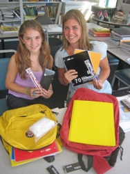 New Jersey Students Decide to Support International Literacy by Sending School and Basic Health Supplies to Africa