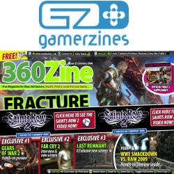 Gears of War 2, Last Remnant and Far Cry 2 Exclusives in 360Zine